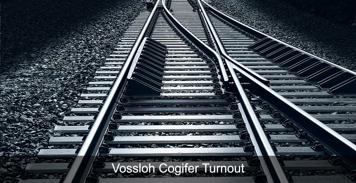 Vossloh Cogifer Turnout
